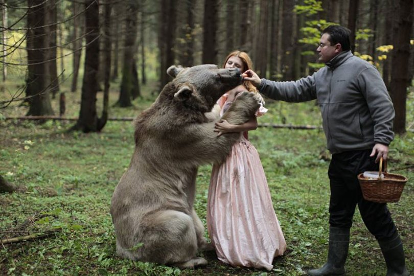 Retratos animais surreal-humano-katerina-plotnikova-2