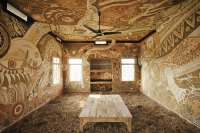 Extraordinary Mud Paintings Decorate An Entire Classroom ...