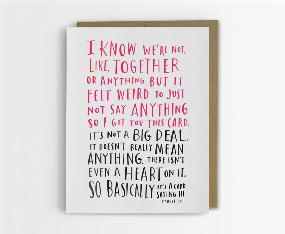 Beautifully Awkward Greeting Cards By Emily McDowell