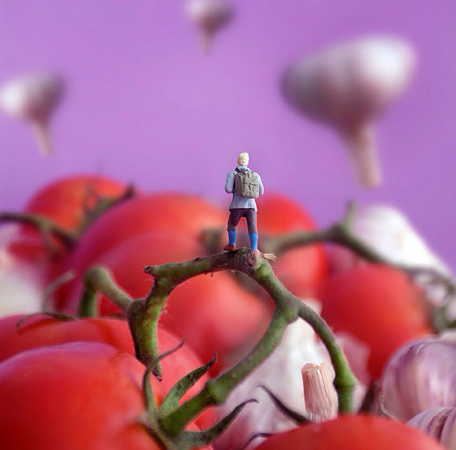 Tiny Peoples Adventures In A World Of Food