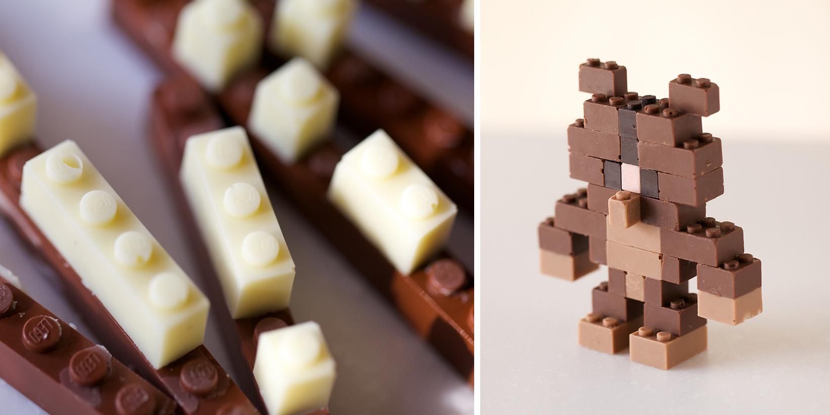 Fb Cute Wallpaper Chocolate Lego Bricks That Kids Can Actually Eat