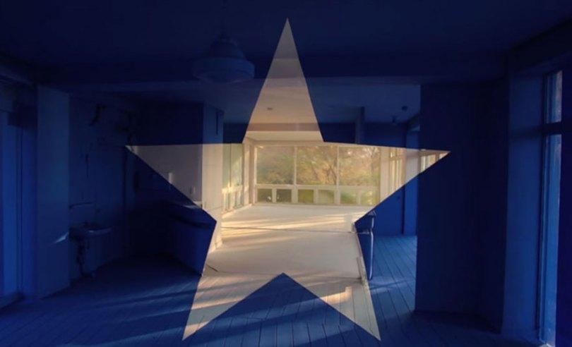 forced perspective art bending space georges rousse 17 - Foto em perspectiva: Arte geométrica 3D por Georges Rousse é visível apenas de um ângulo