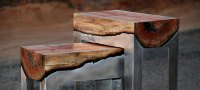 Artist Pours Molten Aluminum Onto Tree Trunks To Create ...