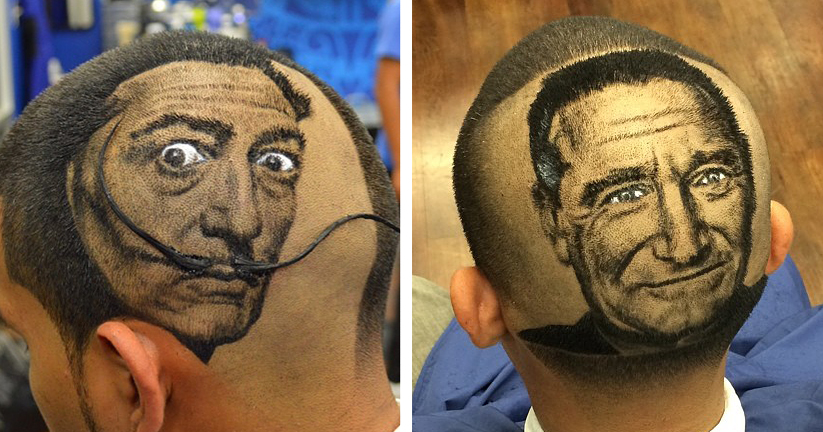 Artist Cuts Hair Into PhotoRealistic Portraits  DeMilked
