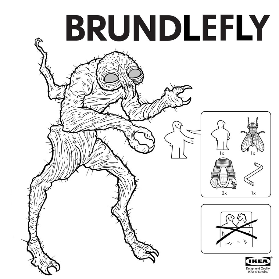 IKEA Instructions: How To Make Your Very Own Movie Monsters