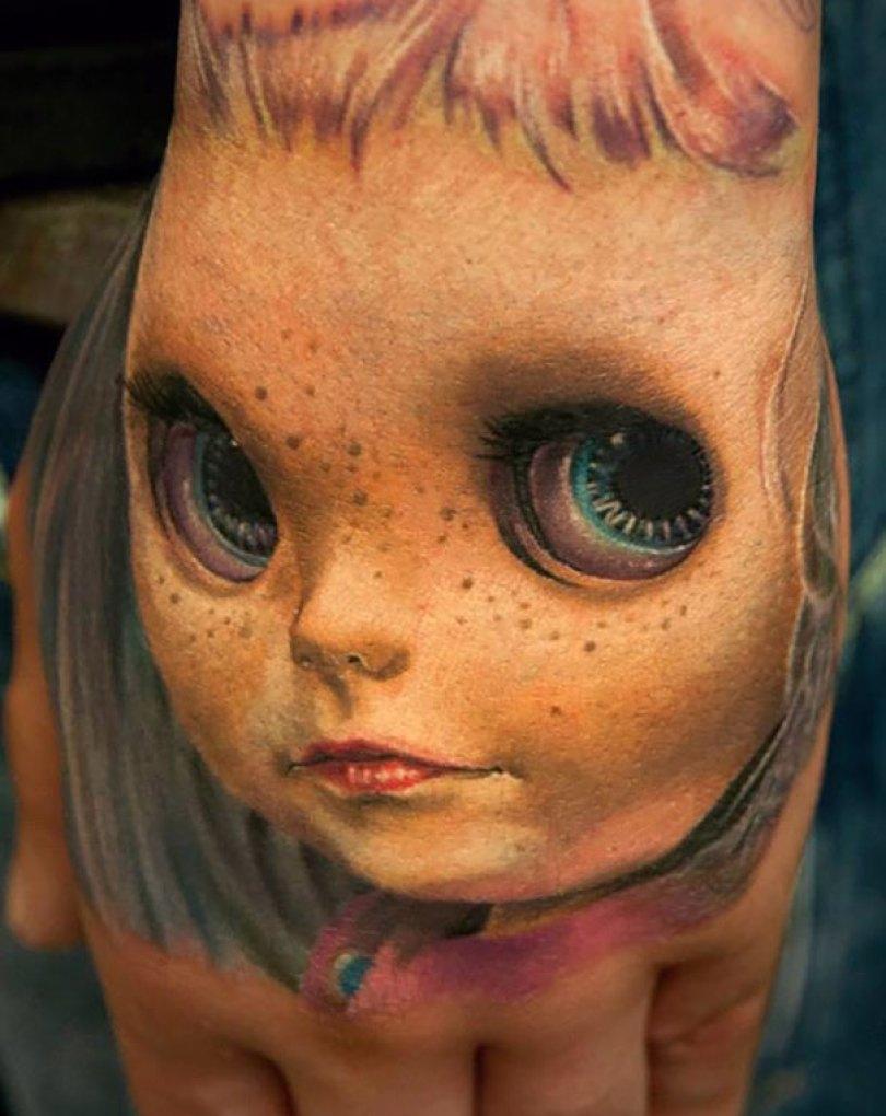 amazing 3d tattoo art 14 - 56  Tatuagens em 3D que irão bagunçar sua mente