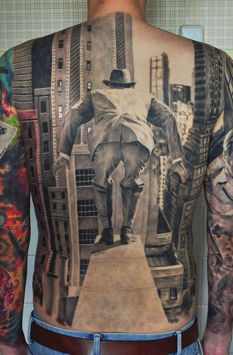amazing 3d tattoo art 2 - 56  Tatuagens em 3D que irão bagunçar sua mente