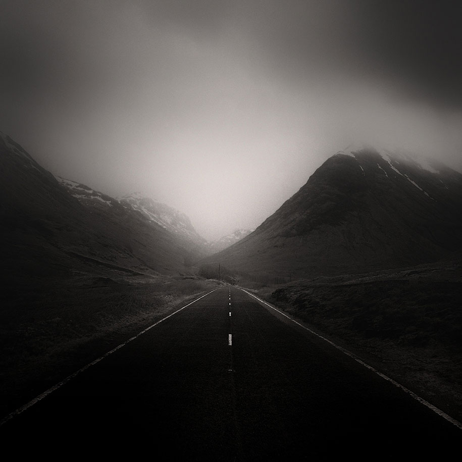 Photographer Captures Roads In Desolate Landscapes Around