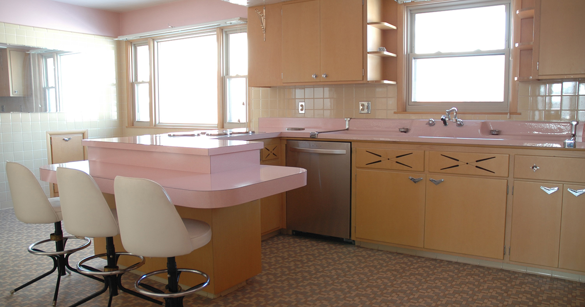 This 50 Year Old Kitchen Hasnt Been Touched Since The 1950s