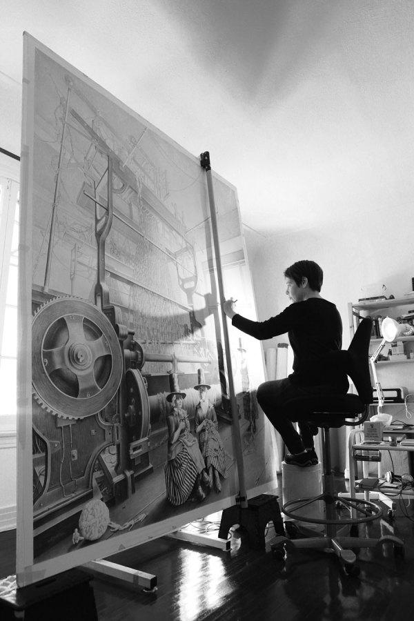 Famous Artists Painting Studios