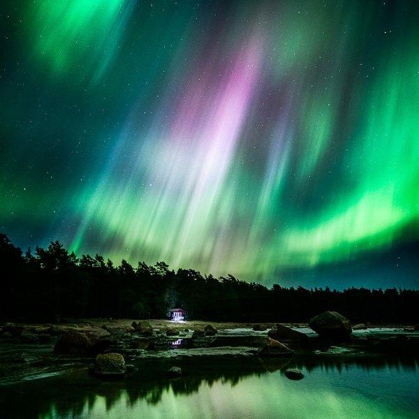 Night Sky Landscape Photography