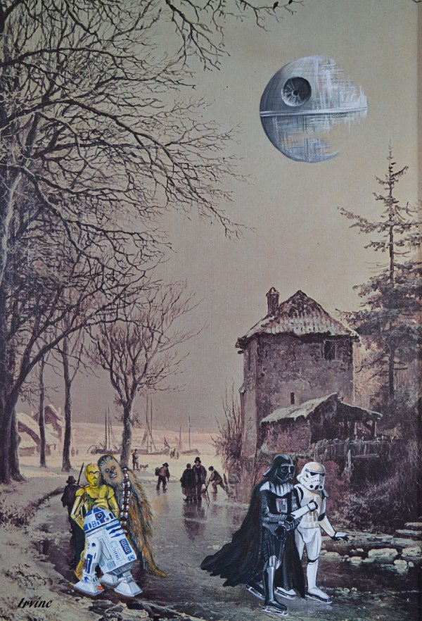 Altered Thrift Store Paintings