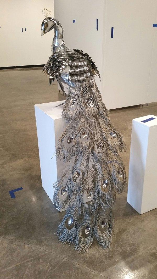 Found Object Sculpture Metal Art