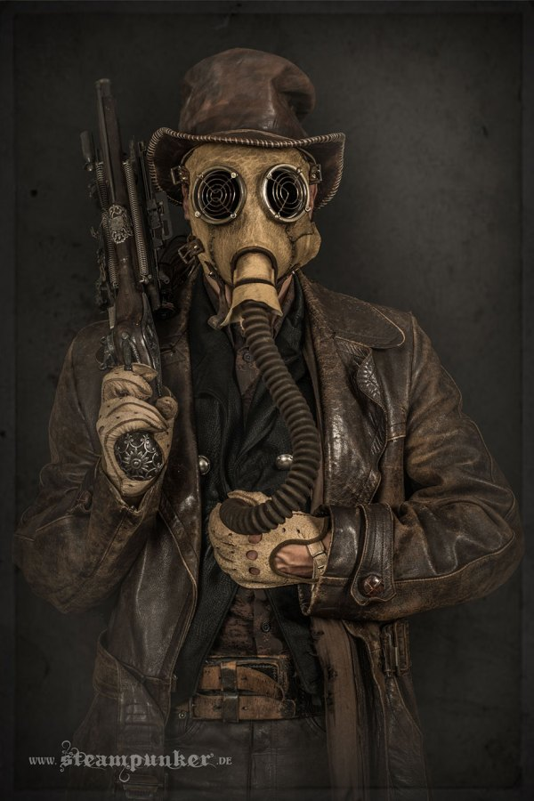 Artist Creates Steampunk Costumes Parts Finds