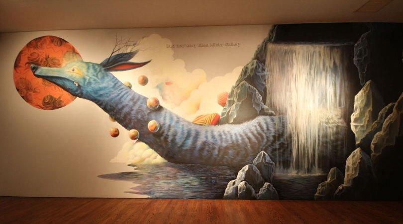 art exhibition vitality and verve transforming the urban landscape long beach california 19 - Museu de arte permitiu que artistas desenhassem em suas paredes