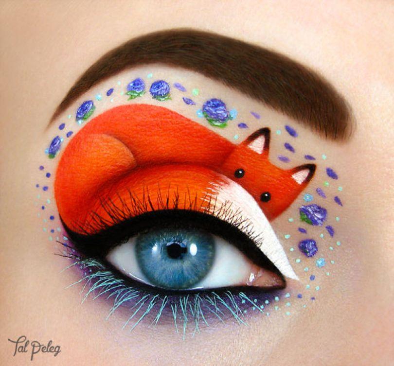 maquiagem-olho-da-pálpebra-desenhos-de-arte-peleg-israel