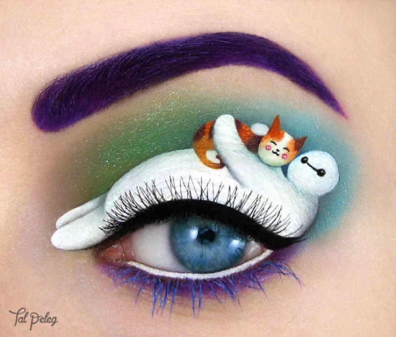 maquiagem-pálpebra-olho-arte-desenhos-tal-peleg-israel-2