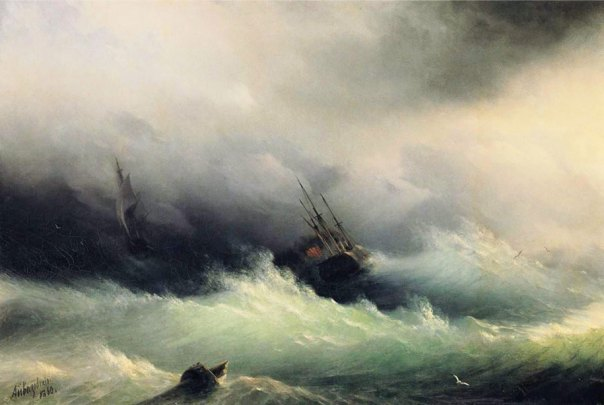 translucent-waves-19th-century-painting-ivan-konstantinovich-aivazovsky-16