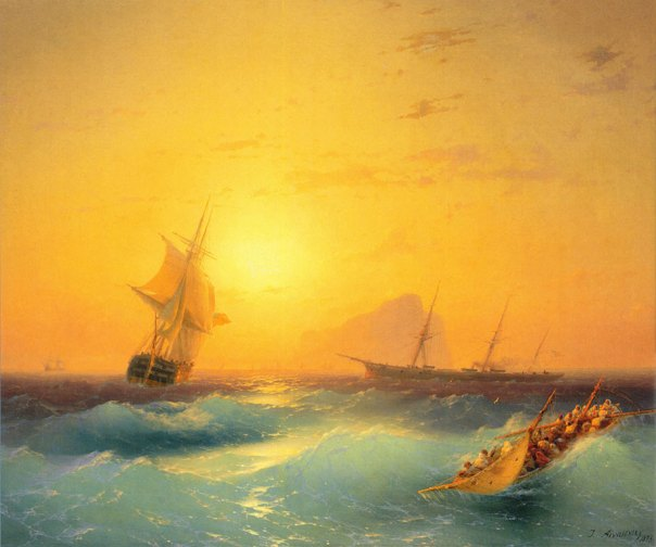 translucent-waves-19th-century-painting-ivan-konstantinovich-aivazovsky-17