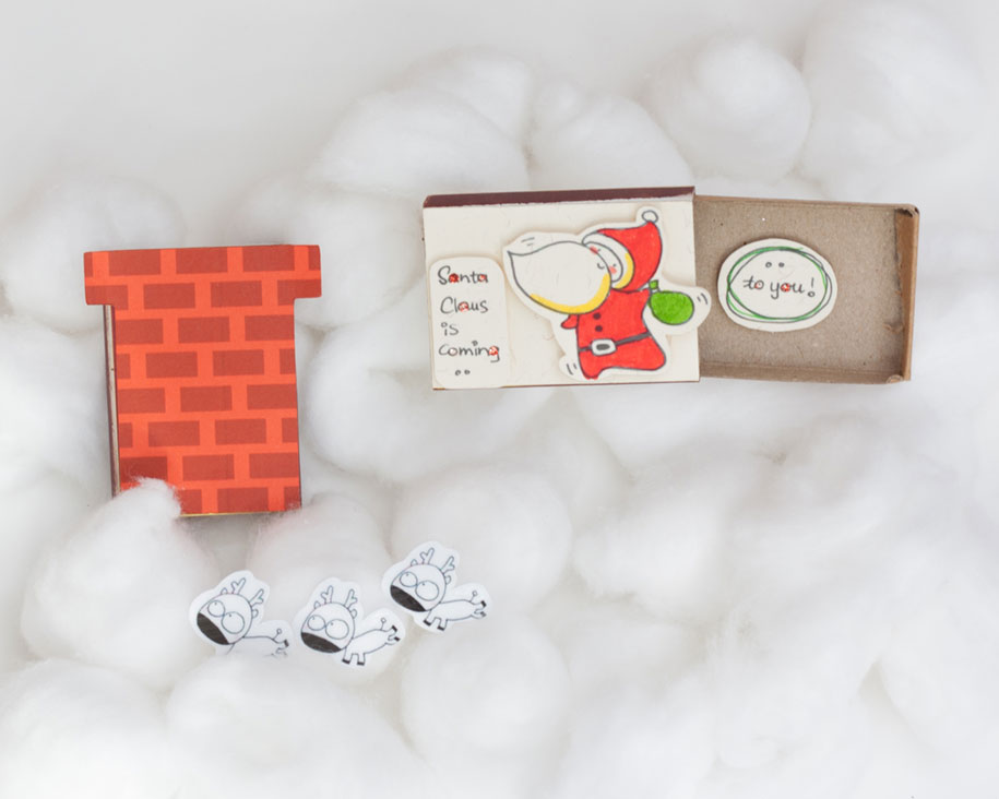 Matchboxes With Cute Hidden Messages To Surprise Your