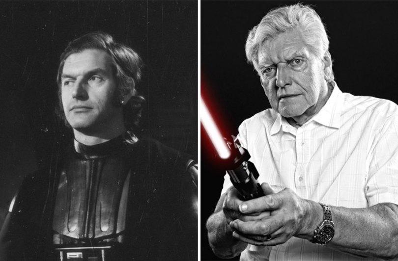 now then star wars cast actors 14 - Star Wars de 1977 O antes e depois dos artistas