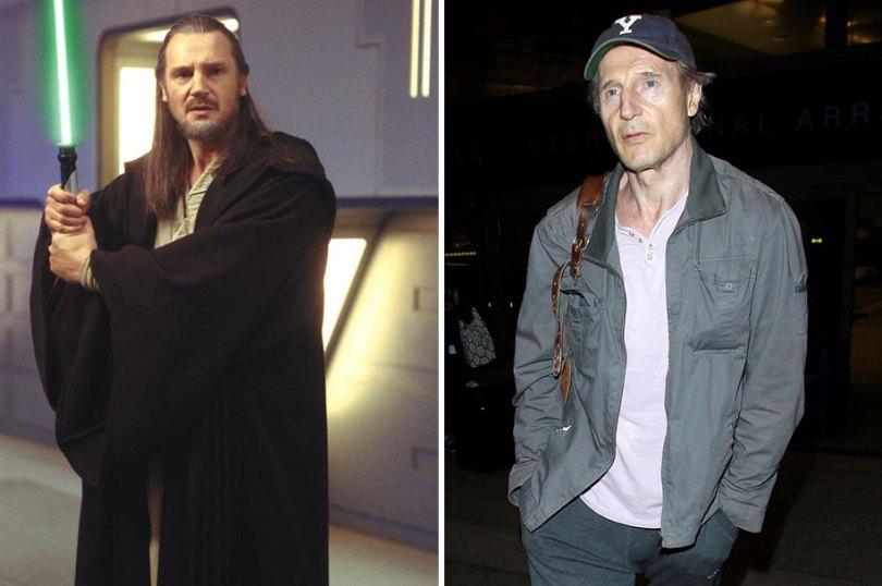 now then star wars cast actors 17 - Star Wars de 1977 O antes e depois dos artistas