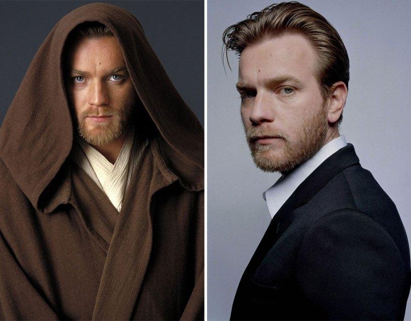 now then star wars cast actors 3 - Star Wars de 1977 O antes e depois dos artistas