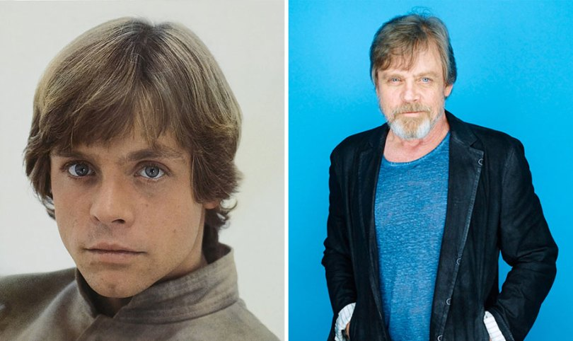 now then star wars cast actors 8 - Star Wars de 1977 O antes e depois dos artistas