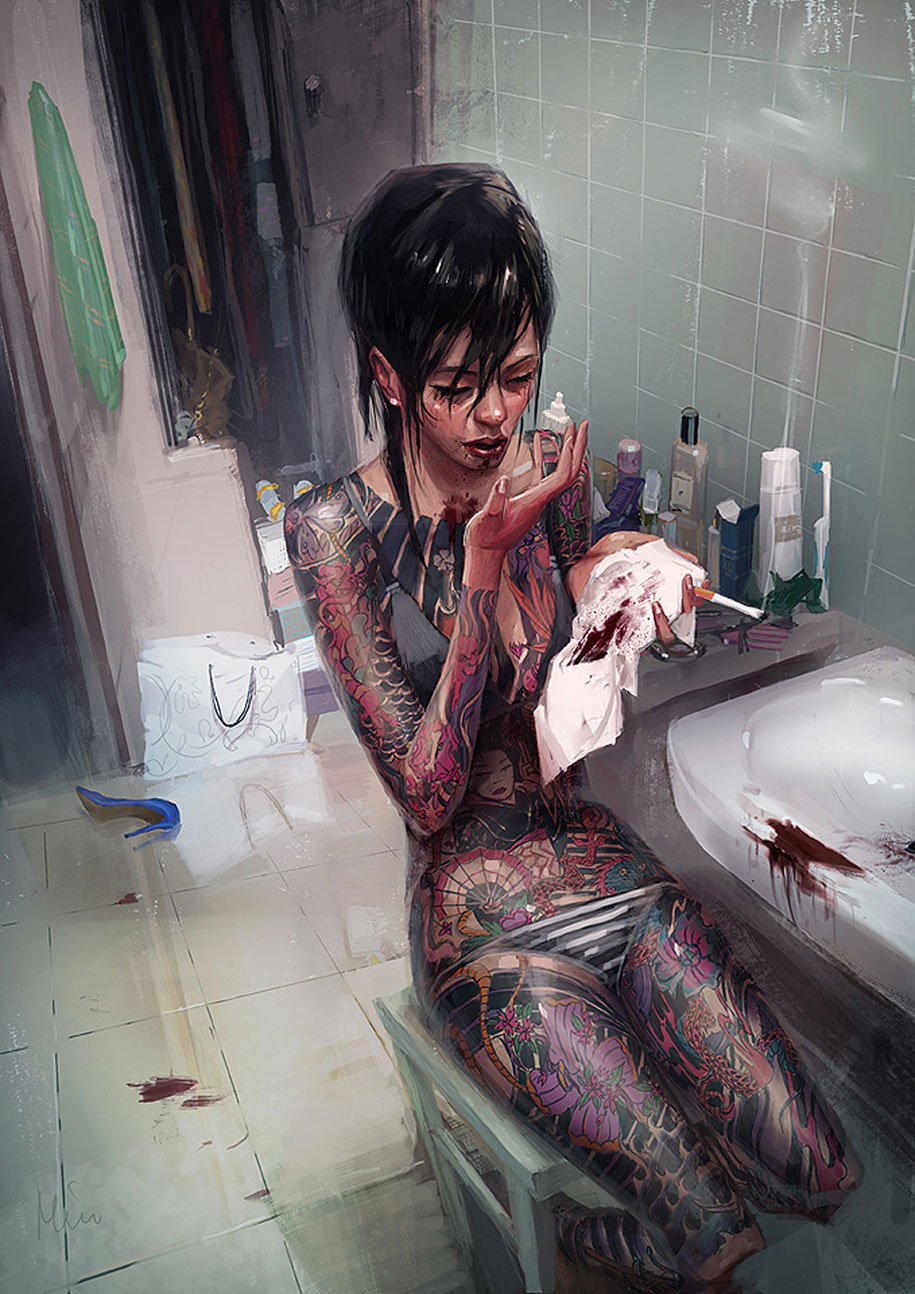17 Stunning Illustrations By Michal Lisowski Remind Us Of