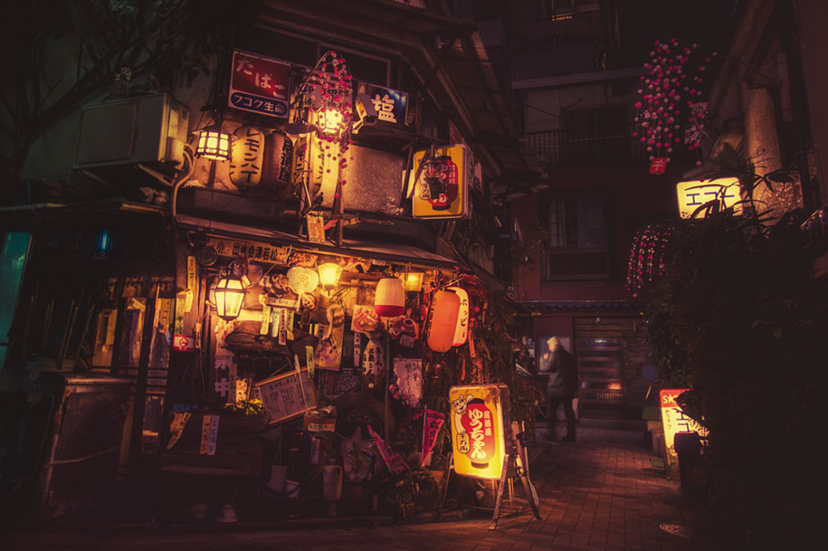 Fall Bird Feeder Wallpaper The Magic Of Tokyo Streets At Night In Photos By Masashi Wakui