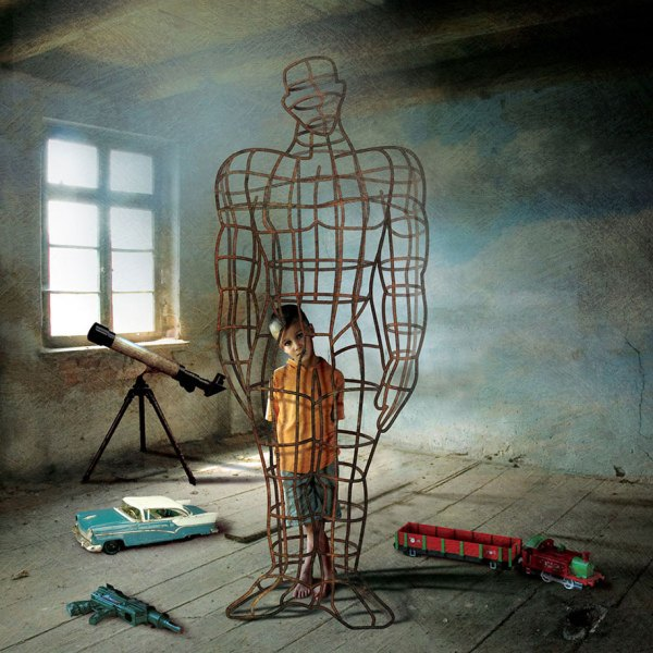 Illustrations With Hidden Messages Show Darker Side Of