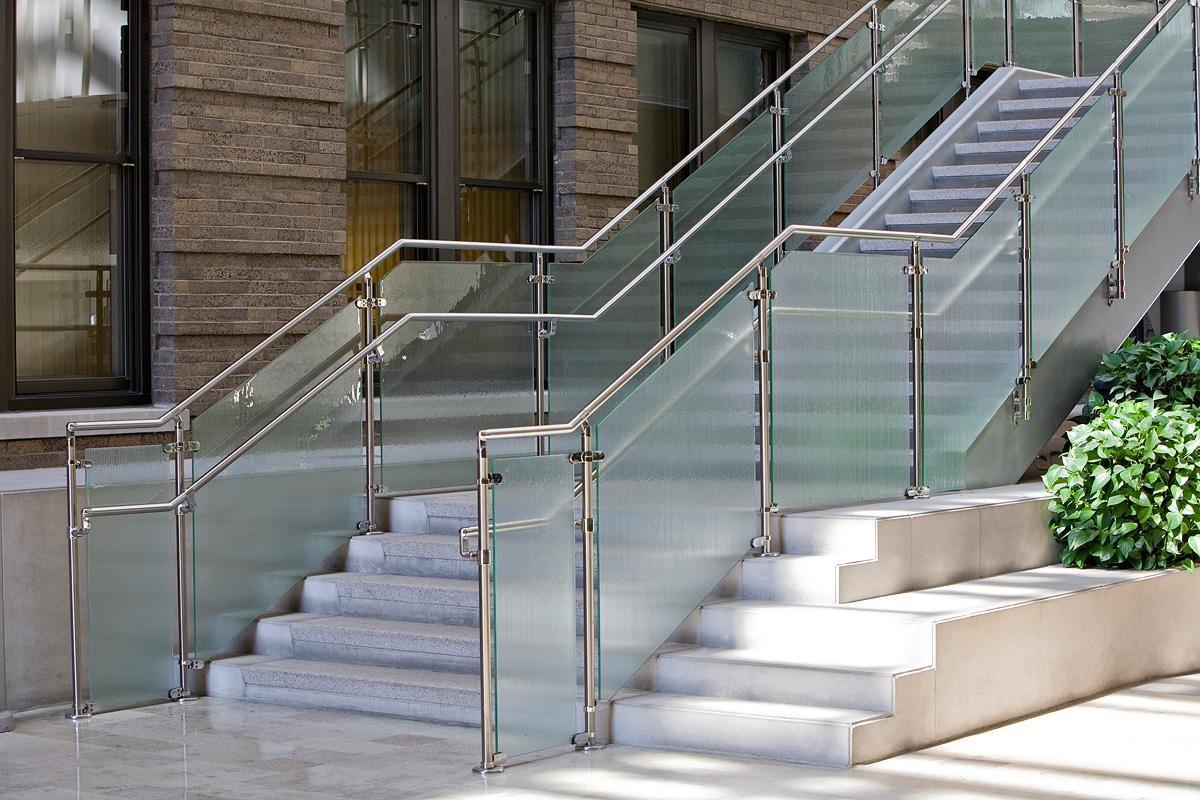 Stainless Steel Railings Vs Wooden Railings Demilked   Glass Hand Railing Design   Frameless   Decorative   Terrace   Indoor Glass Panel   Custom Glass