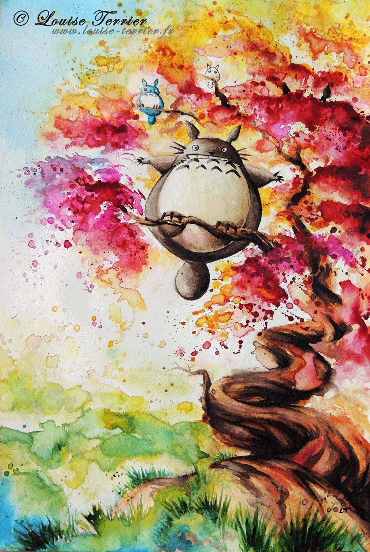 Style Art Hayao Miyazaki