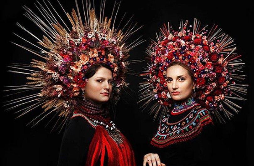 traditional ukrainian flower crowns treti pivni 12 - Mulheres e as coroas florais tradicionais de seu país