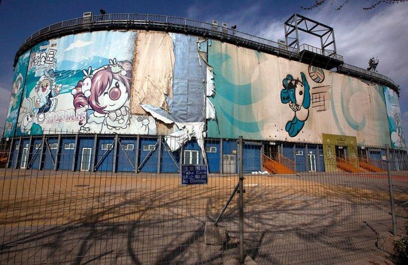 abandoned olympic venues urban decay 5 - Como ficou o complexo olímpico do Rio 2016 após o evento?