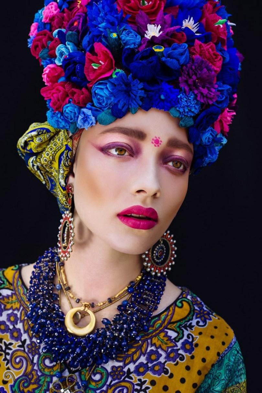 polish slavic wreaths folklore ula koska beata bojda 2 - Mulheres e as coroas florais tradicionais de seu país