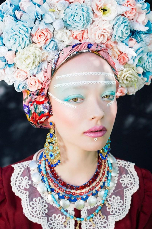 polish slavic wreaths folklore ula koska beata bojda 4 - Mulheres e as coroas florais tradicionais de seu país
