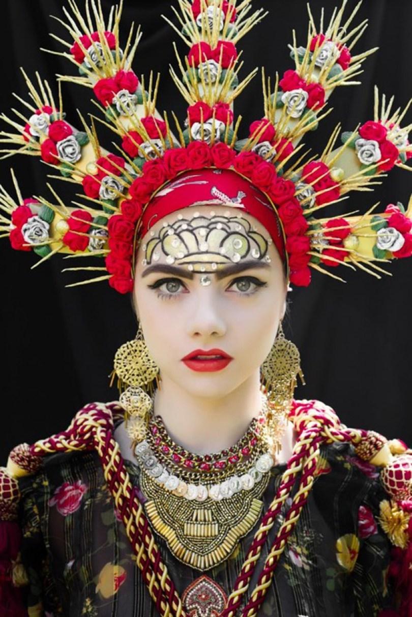 polish slavic wreaths folklore ula koska beata bojda 8 - Mulheres e as coroas florais tradicionais de seu país