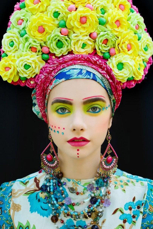 polish slavic wreaths folklore ula koska beata bojda 9 - Mulheres e as coroas florais tradicionais de seu país