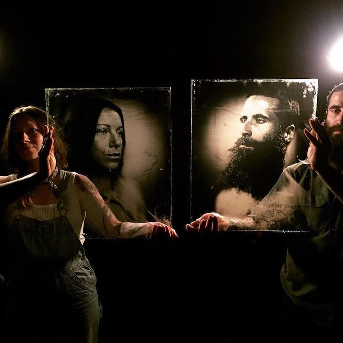 Photographer Uses A 160-Year-Old Camera To Create Unique Portraits | DeMilked
