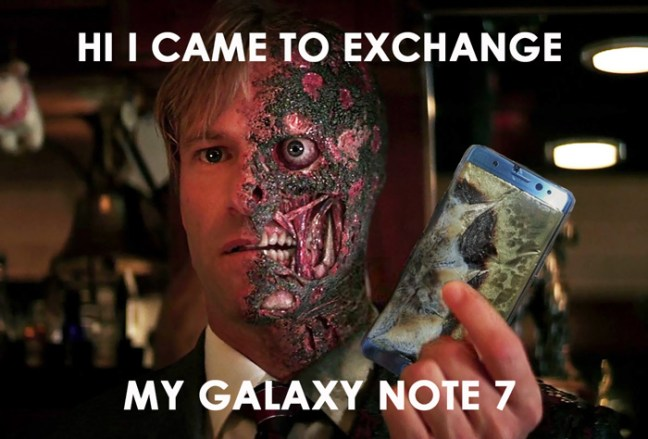 samsung-galaxy-note-7-exploding-funny-reactions-1 10 Funniest Reactions To The (Again) Exploding Samsung Note 7 Technology