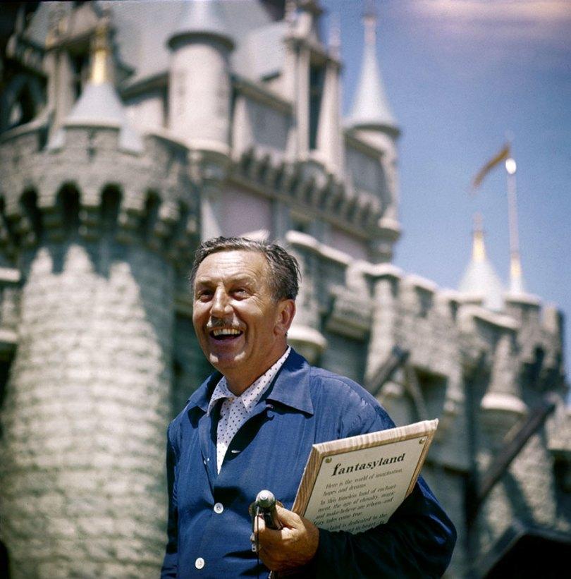 disneyland opening day 1955 1 - Dia de abertura da Disneylândia em 1955