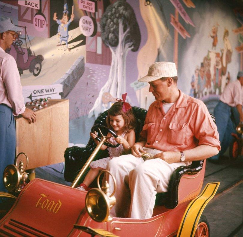 disneyland opening day 1955 2 - Dia de abertura da Disneylândia em 1955