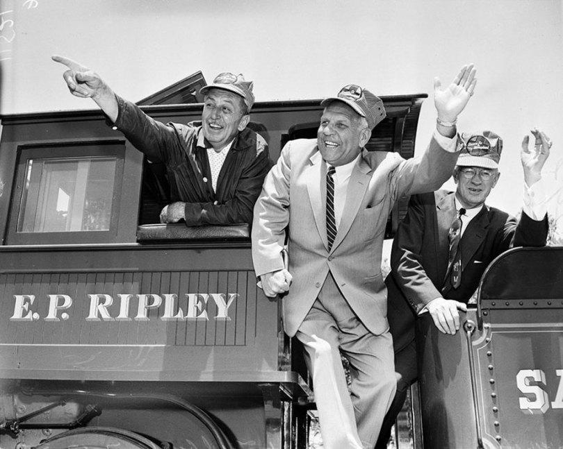 disneyland opening day 1955 21 - Dia de abertura da Disneylândia em 1955