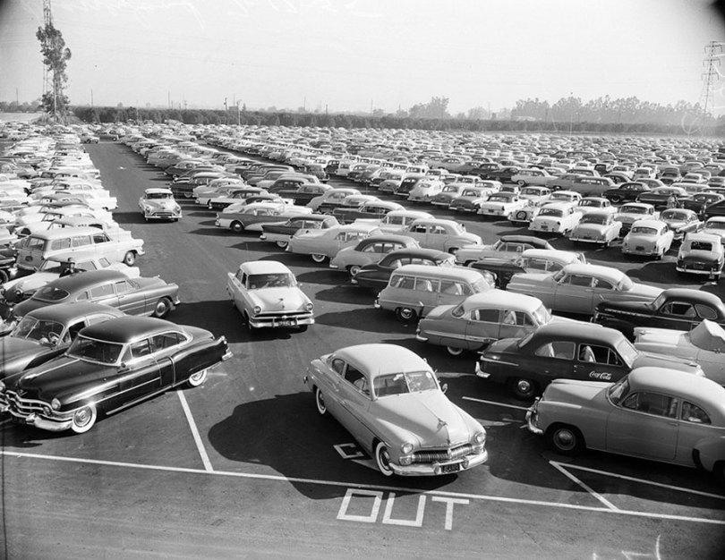 disneyland opening day 1955 4 - Dia de abertura da Disneylândia em 1955