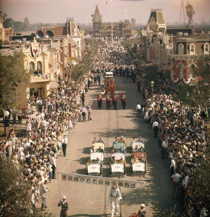 disneyland opening day 1955 8 - Dia de abertura da Disneylândia em 1955