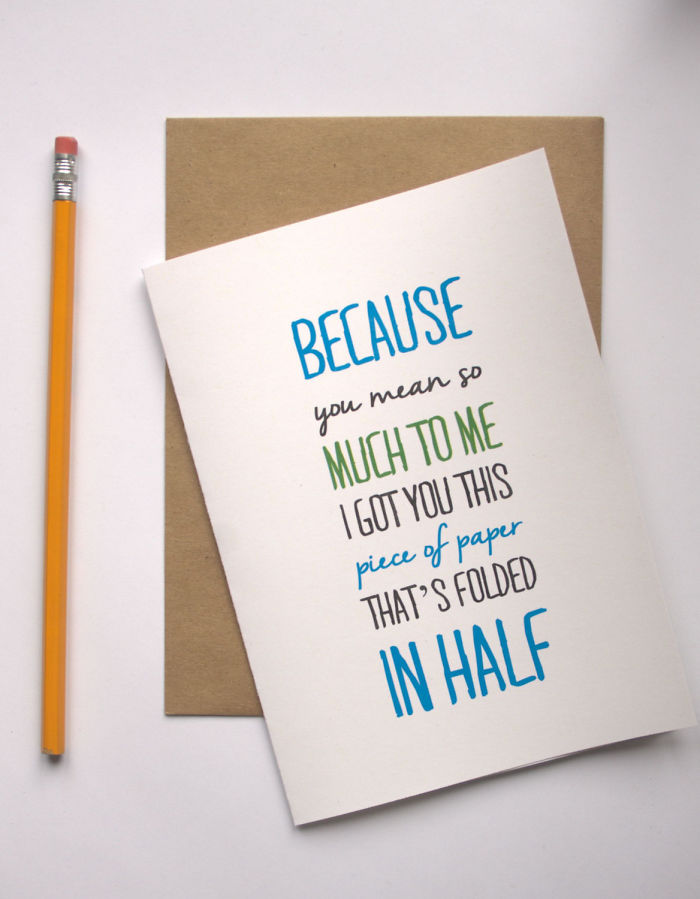15 Creative Valentines Day Cards For NonTraditional Couples