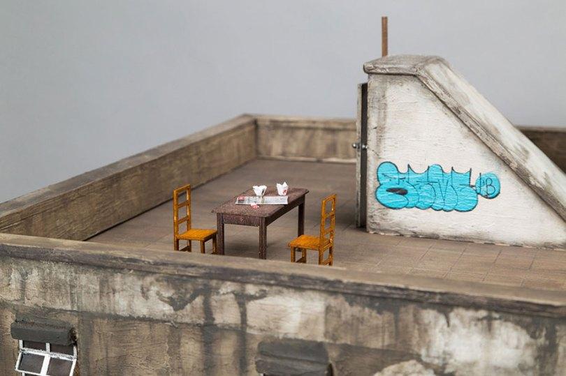 gritty urban miniature cities joshua smith 36 - Cidade em miniatura urbana em detalhes