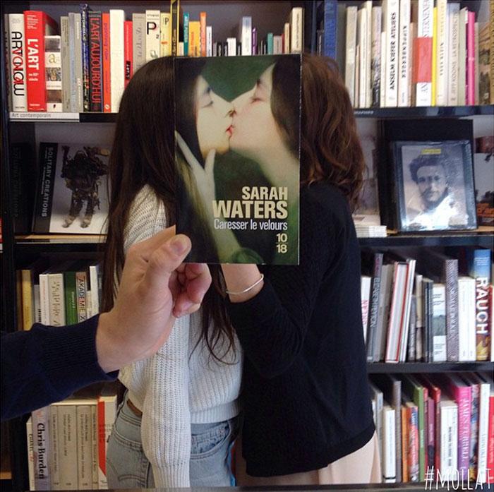 people match books covers librairie mollat 16 - Funcionários entediados de livraria se divertem com capa de livros #Parte 2