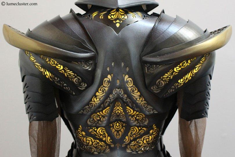 3d printed fantasy armor cosplay melissa ng 16 - Fantasia de armadura feito em 3D é o sonho de todo cosplay